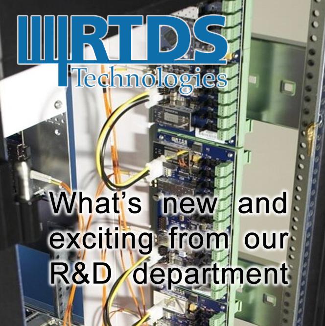 Новые разработки компании RTDS Technologies Inc. для симуляторов RTDS