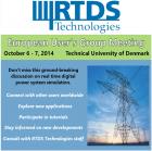 Научно-практическая конференция для европейских пользователей симуляторами RTDS