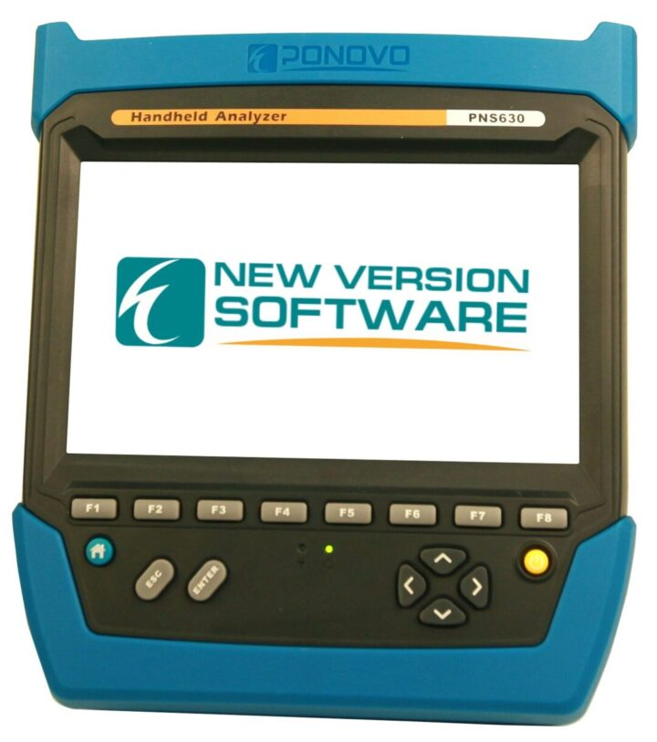 Обновление ПО тестера-анализатора для ЦПС Ponovo PNS630