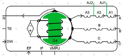Новая модель генератора для RTDS