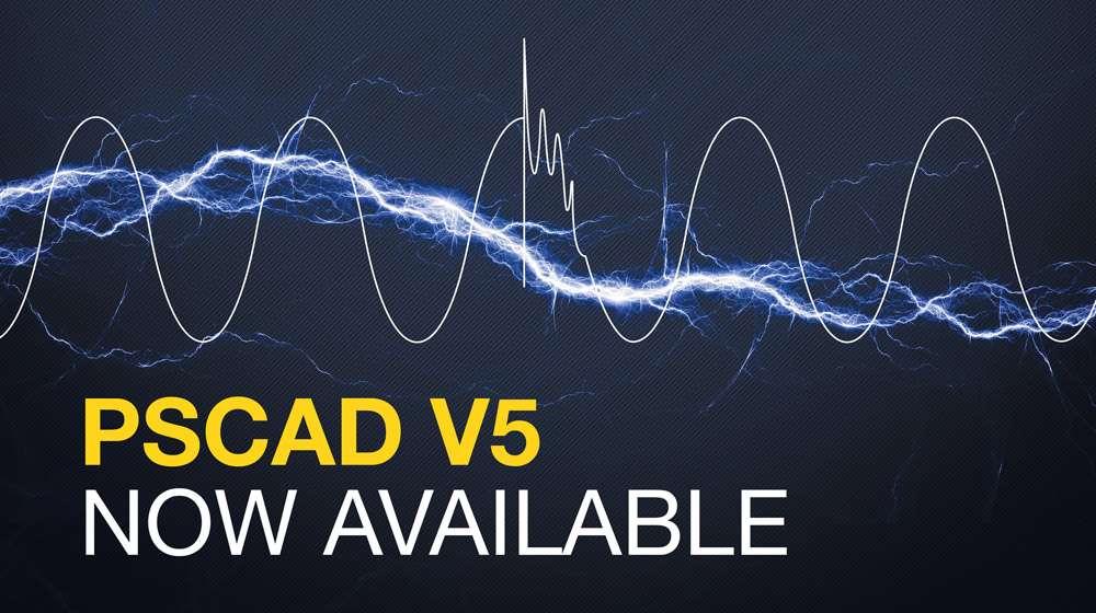 Официальный релиз PSCAD V5